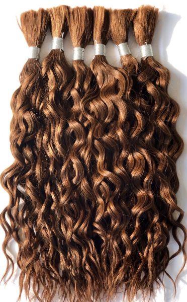 Schokobraunes Haar